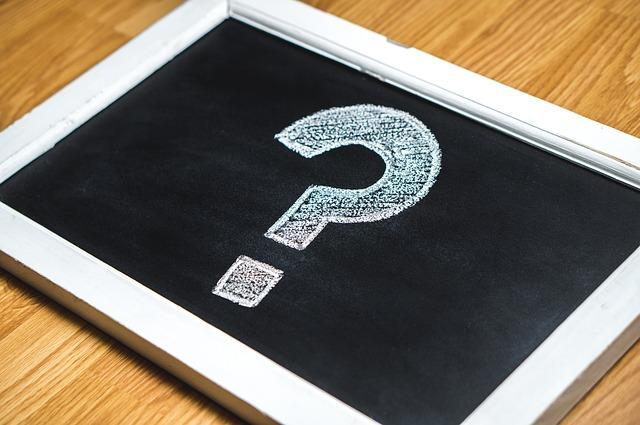 question mark on chalkboard Perth