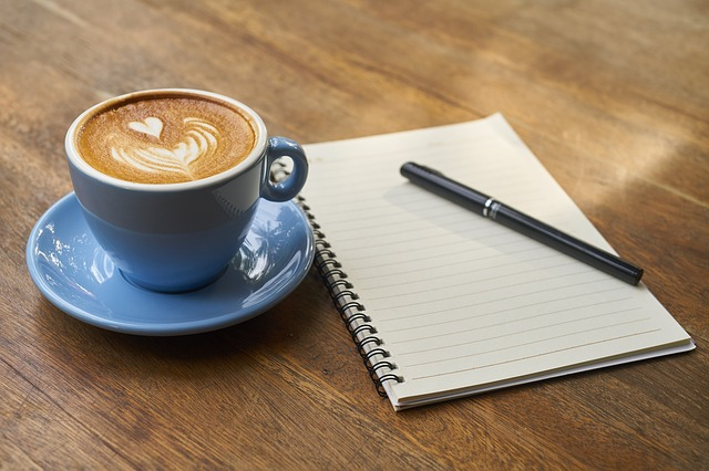 copywriting coffee and paper writing core values